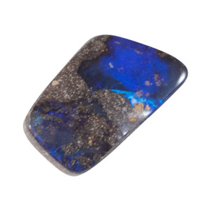 DEEP BLUE MOUNTAIN  NATURAL SOLID AUSTRALIAN BOULDER OPAL LOOSE STONE