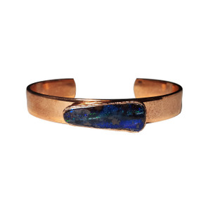 MIRACLE MOUNTAIN 18kt ROSE GOLD PLATED OPAL BRACELET