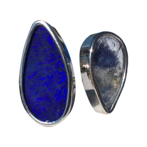 DAILY JOY 14kt WHITE GOLD OPAL RING