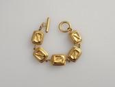 Vintage Dauplaise Bracelet Ancient civilizations Design Rich Gold Plating