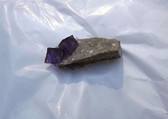 Elmwood Mine 2 Mini Fluorite CUBE Crystals on Dolomite matrix