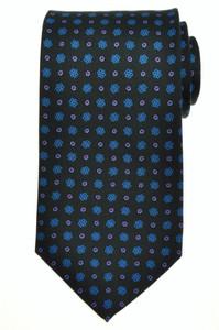 E. G. Cappelli Napoli Tie Silk 58 x 3 5/8 Green Blue Red Geometric 08TI0112