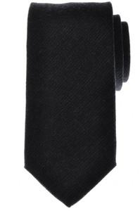 Battisti Napoli Tie Silk Wool 58 x 3 1/4 Charcoal Gray Solid 41TI0158