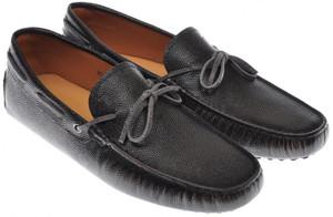 Tod's Shoes Gommini Leather 8.5 UK 9.5 US Black 31SO0114