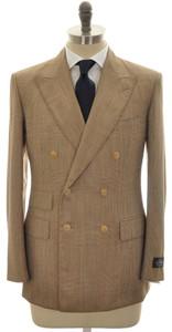 Belvest 3-Piece Suit DB Wool 42 52 Brown Plaid 50SU0130
