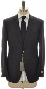 Canali 1934 Suit Trim Fit 2B Wool 44 54 R8 Blue Micro 25SU0145