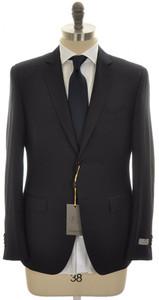 Canali 1934 Suit Trim Fit 2B Wool 42 52 R8 Blue Fancy 25SU0151