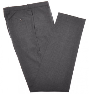 Incotex Dress Pants 100s Wool 30 46 Gray 08PT0179