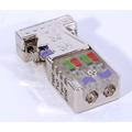 Profibus Connector w/ LEDs - 0 Degree | EasyConn