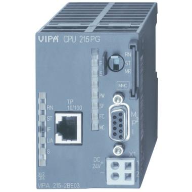 215-2BE03 - CPU215, 128KB, Ethernet RJ45 Port