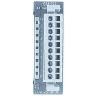 222-1BF30 - SM222 Digital Output, 8DO, 24VDC, 0.5A, ECO