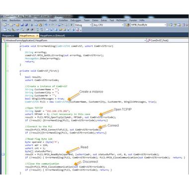 MHJ M005.041 | ComDrvS7 32-Bit, Communication Library for S7-PLCs, Developer License for S7-300, 400, 1200, All-in-one Communication Library for S7-PLCs