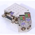 ModbusRTU/ASCII D-Sub Bus Connector w/ LEDs - 45 Degree | EasyConn