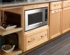 Microwave Cabinet with Drawer