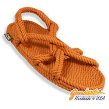 Classic Barbados Rust Rope Sandals