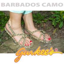 Signature Barbados Camo Rope Sandals