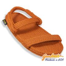 Classic Montego Rust Rope Sandals