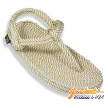 Classic Trinidad Natural Rope Sandals