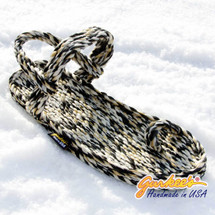 Signature Kona Snow Leopard Rope Sandals
