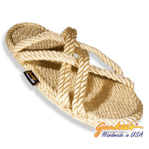 Classic Bahama Natural Rope Sandals