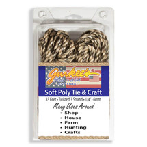 """CAMO 50' Pull and Tie Rope (1/4""""/6mm) FREE SHIP"""