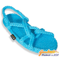 Classic Barbados Cotton Candy Color Rope Sandals