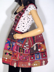 Kutch Embroidery Artisan Made Fashion Shoulder Bag