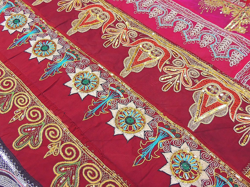 Designer india inspired bedding ensemble home decor sari for 7p decoration