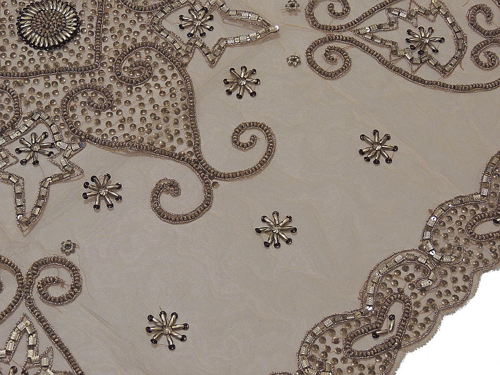Luxury Tablecloths U2013 Indian Style Table Linens With Gold Beads On Net  Fabric; Image 2; Image 3 ...
