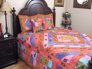Indian Inspired Bedding Duvets Amp Comforters Sari Coverlets