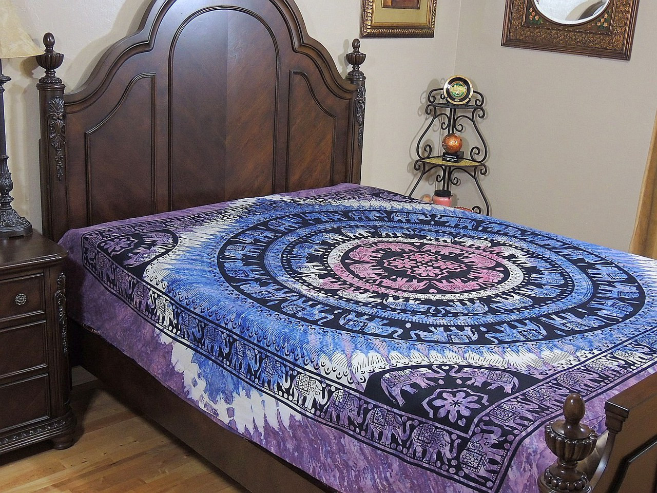 size blue medallion outfitters magical urban indian comforter p thinking full from