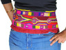 Tribal Belly Dance Belt Kuchi Fusion Style Embroidered Mirror Trim Textile