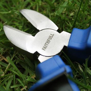 Faithfull diagonal cutting pliers.
