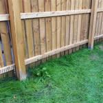 Great for blocking gaps under a fence or gate