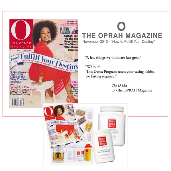 """Clearing and Support Packs are part of our 14-Day Anti-Aging Detox Kit, recommended by O-The Oprah Magazine's """"O-List"""" of favorite things."""
