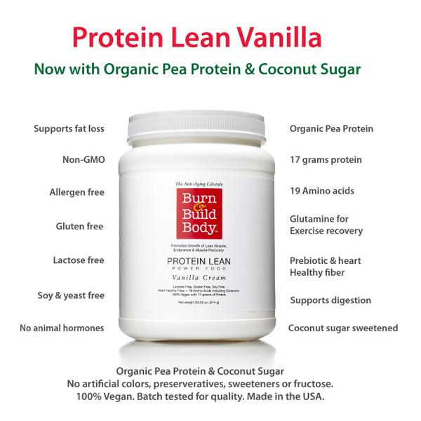 What's in Your Protein.  Protein Lean Vanilla Cream