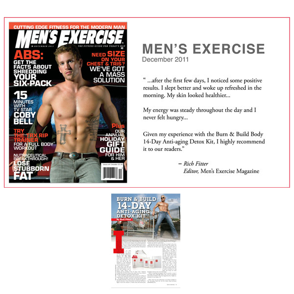 14-Day Anti-Aging Detox Kit Recommended by MEN'S EXERCISE