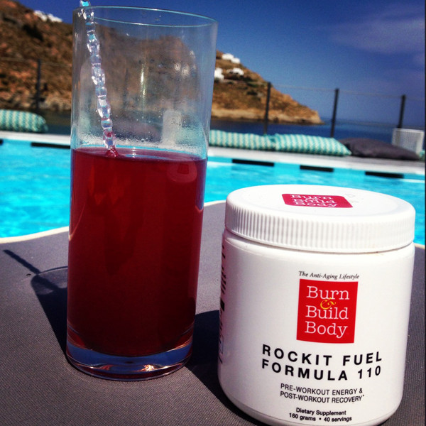 Rocket Fuel Formula 110 loves it's days by the pool...