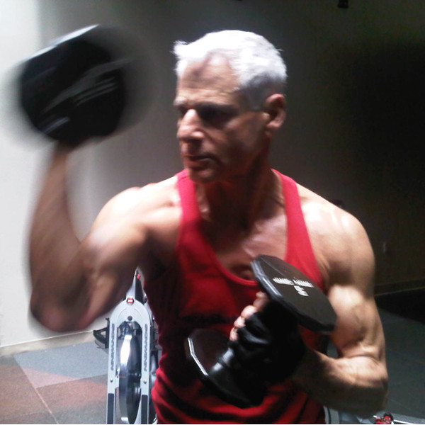 Whether your 20 or 60, rock your workouts with Energy Optimizer Packs. Company founder, Rick Dinihanian at 67.