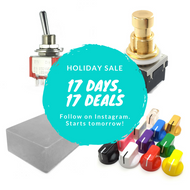 Holiday Sale: 17 Days, 17 Deals.