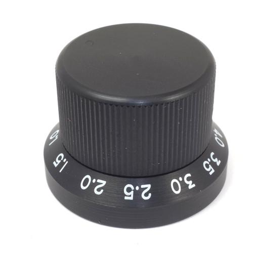 Black Kilo International aluminum knob JDSP-90-4-5
