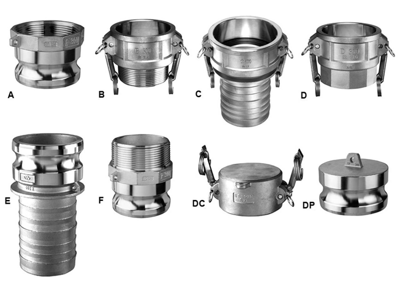 Kuriyama in stainless steel quick couplings john m