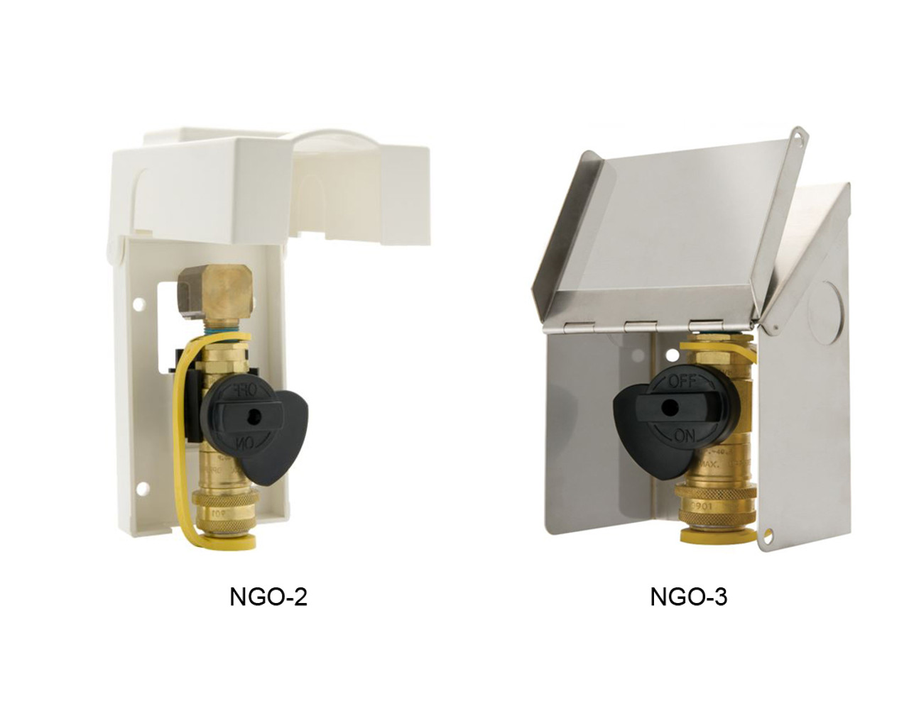 Gas-Flo Natural Gas/Propane Gas Exterior Wall Outlets ...