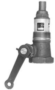 Morrison 1 1/2 in. Straight Style Emergency Valve w/ Teflon Disc
