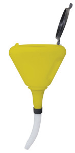 National Spencer 8 in. Polypropylene Funnel w/ Screen