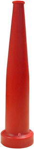 Dixon Powhatan 1 1/2 in NH (NST) Red Polycarbonate Plain Hose Nozzles