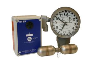 Morrison 918 Series 2 in. Female NPT Clock Gauge Alarm w/ Standard Float - Feet & Inches