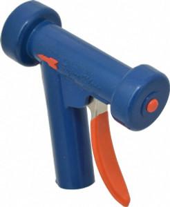 Superklean 150 Series Standard Spray Nozzle - Anodized Aluminum - Light Blue