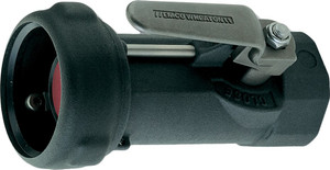 Emco Wheaton 1 1/2 in. Female NPT  Dry-Break Straight Coupler w/ Buna-N Seals - Straight w/out Swivel