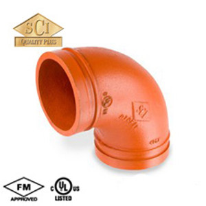 Smith Cooper COOPLOK 2 in. Grooved 90° Elbow - Standard Radius